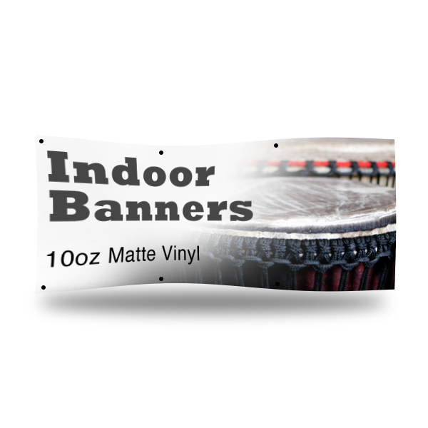 Indoor Banner 10ml Matte Vinyl